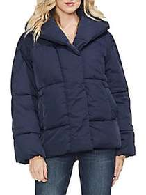 Vince Camuto Estate Jewels Quilted Hooded Jacket C