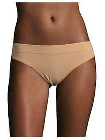 DKNY Seamless Mid-Rise Thong BEIGE