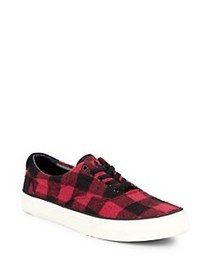 Polo Ralph Lauren Thorton Plaid Low-Top Sneakers B