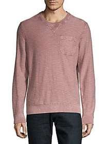 Lucky Brand Welter Weight Heathered Cotton Top DUS