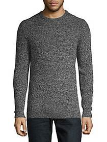 Selected Homme Novelty-Knit Sweater BLACK