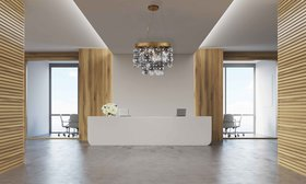 Stansberry 4-Light Novelty Chandelier