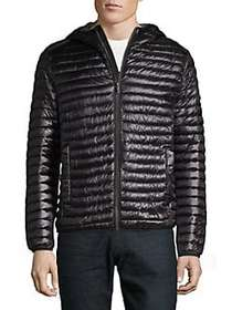 Karl Lagerfeld Quilted Puffer Jacket BLACK