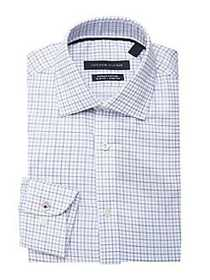 Tommy Hilfiger Slim-Fit Checkered Button Down Shir