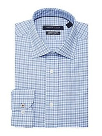 Tommy Hilfiger Slim-Fit Plaid Shirt BLUE