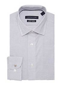 Tommy Hilfiger Slim-Fit Cotton Button-Down Shirt W