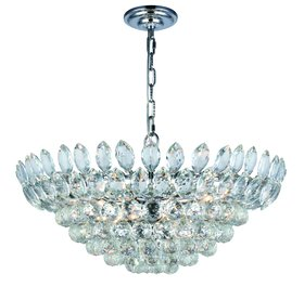 Glendora 11-Light LED Crystal Chandelier