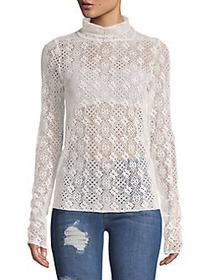 Free People Sweet Memories Tutleneck IVORY