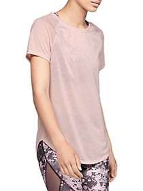 Under Armour Short Sleeve Strappy Back Top FLUSH