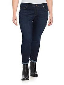 Jessica Simpson Plus Forever Rolled Skinny Jeans B
