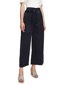 1.STATE High-Waist Cropped Pants BLUE NIGHT