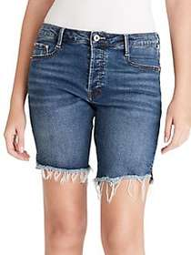 Jessica Simpson Venice Cut Off Shorts MARINE