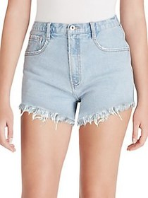Jessica Simpson Infinite High Waist Shorts SKYLARK