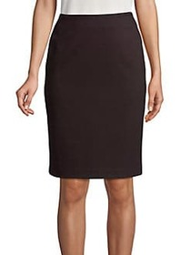 Tommy Hilfiger Textured Pencil Skirt BLACK