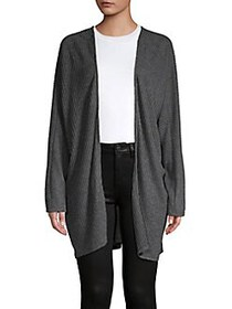 Project Social T Thermal Long Sleeve Cardigan CHAR