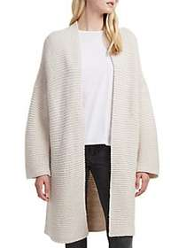 French Connection Hildred Knitted Cardigan CREAM