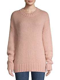 French Connection Dropped Shoulder Sweater BLUSH