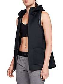 Under Armour Unstoppable Move Hooded Vest BLACK