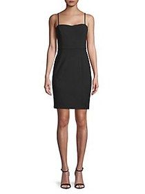 French Connection Sweetheart Neckline Mini Sheath
