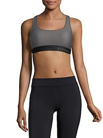 Under Armour Mid-Crossback Sports Bra CHARCOAL