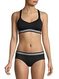 French Connection Modal Padded Bra ANTHRACITE