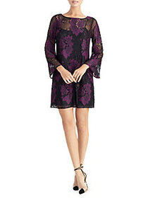 RACHEL Rachel Roy Madeline Bell-Sleeve Lace Shift
