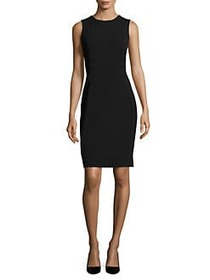 Calvin Klein Sleeveless Sheath Dress BLACK