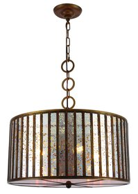 Hesperia 4-Light Drum Chandelier