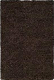 Sihanoukville Hand-Knotted Dark Gray/Purple Area R