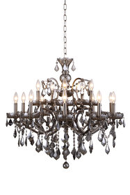 Newell 15-Light Candle Style Chandelier