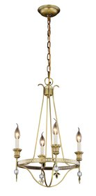 Trevorton 4-Light Candle Style Chandelier