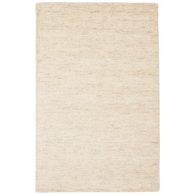 Volmer Hand-Loomed Ivory/White Area Rug