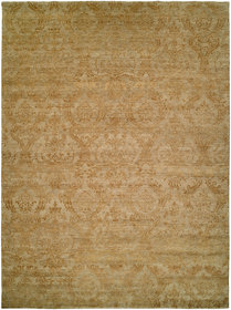 Hurghada Hand-Knotted Beige Area Rug
