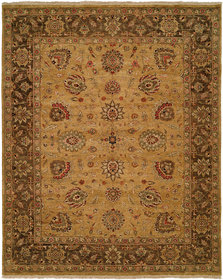 La Paz Hand-Knotted Brown Area Rug