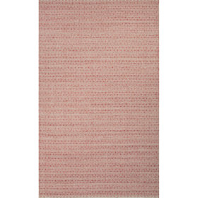 Turton Red/Taupe Solid Area Rug