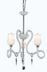 Adelene 3-Light Shaded Chandelier