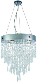 Carmel 4-Light Crystal Chandelier