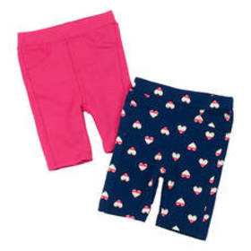 Toddler Girl Freestyle 2pk. of Solid & Hearts Prin