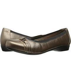 Clarks Pewter Leather