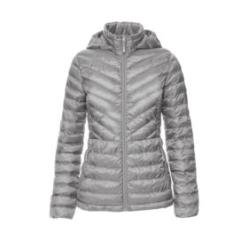 WOMEN'S ULTRA-LIGHT DOWN CHEVRON JACKET