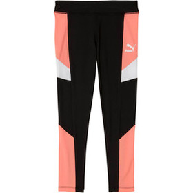 COLOR BLOCK SPANDEX PRESCHOOL LEGGINGS