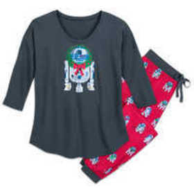 R2-D2 Holiday Pajama Set for Women by Munki Munki