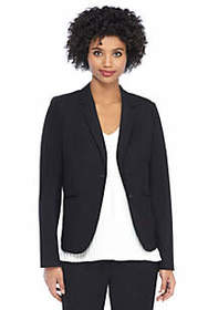 Two Button Blazer in Modern Stretch