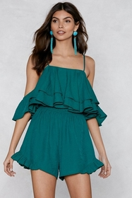 You Just Keep Getting Better Ruffle Romper