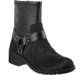 """""""As Is"""" Lori Goldstein Collection Motorcycle Boot"""