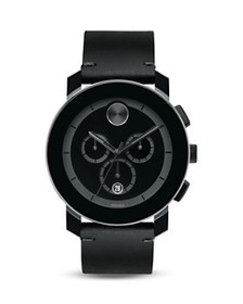 Movado BOLD - Movado BOLD Large Black TR90 and Sta