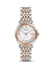 Bulova - Modern Two-Tone Watch, 27mm
