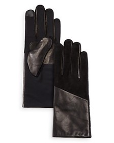 Echo - Leather Detail Tech Gloves
