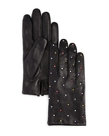 Echo - Rani Embellished Leather Gloves