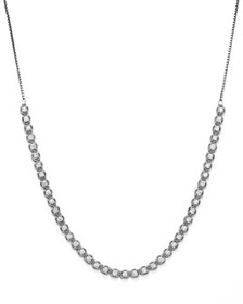 Bloomingdale's - Diamond Beaded Bolo Necklace in 1